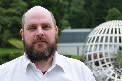 picture of me at the Mathematische Forschungsinstitut Oberwolfach